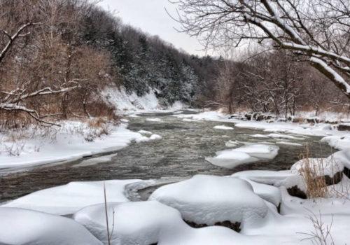 Le Canada en hiver
