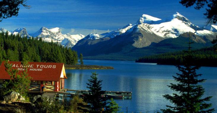 Paysage du Canada (Alberta)