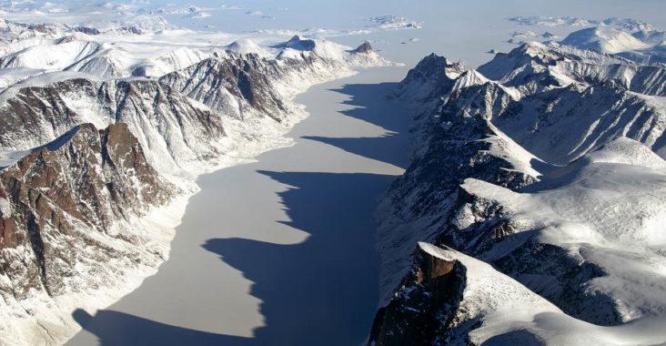 Ile de Baffin en hiver