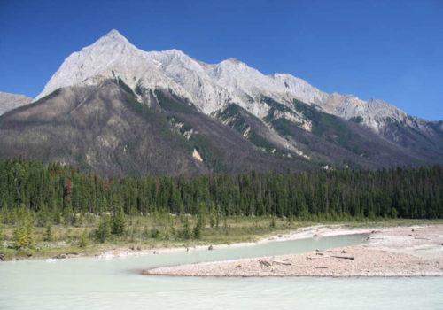 Parc National de Yoho au Canada